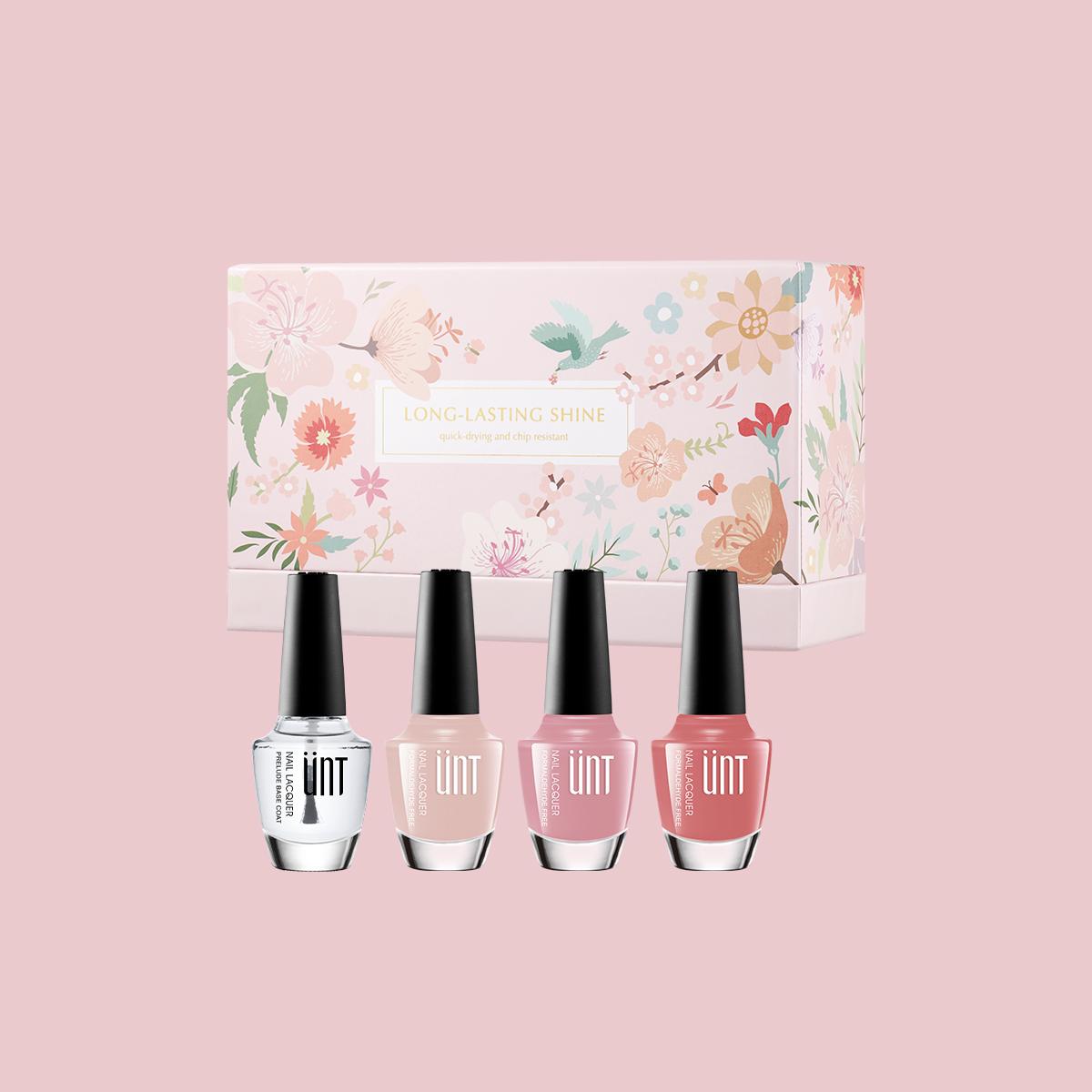 玩美持色指甲油 浪漫禮盒-粉色