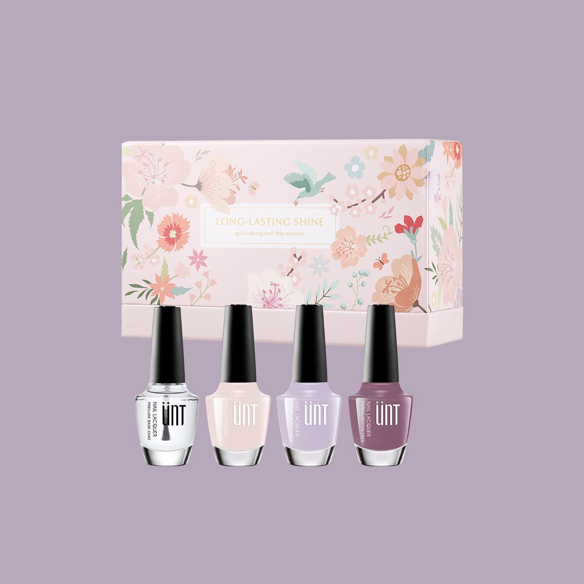 玩美持色指甲油 浪漫禮盒-紫色
