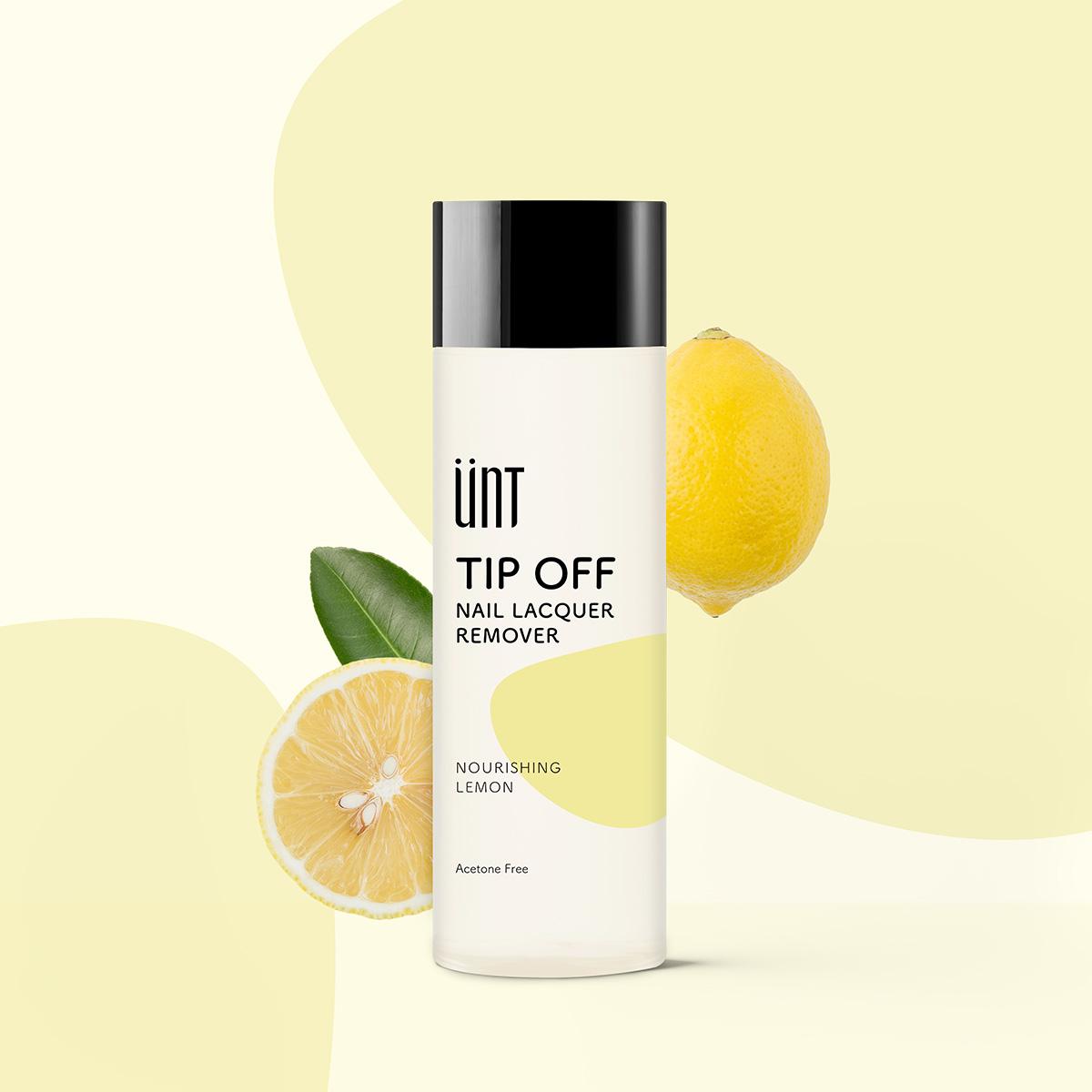 檸檬強化潤甲去光水