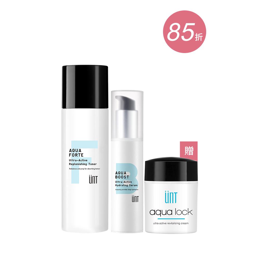 玻尿酸保濕精華+化妝水組